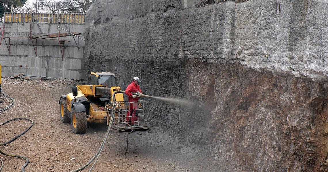Торкретирование: цена бетона за куб с доставкой