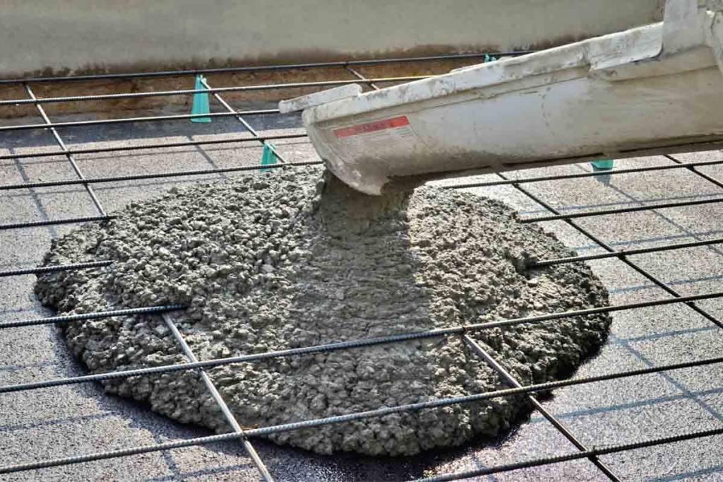 Бетон 300 применение чем отмыть стекло от цементного раствора